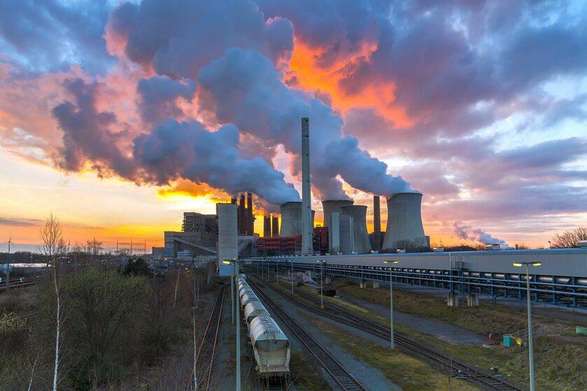 Elektrownia, Neurath, Niemcy, zdj. ilustracyjne