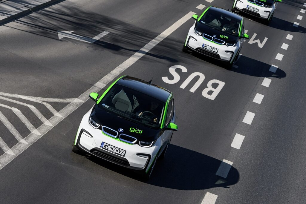 Elektryczne BMW i3 dostępne w car sharingu Innogy go!