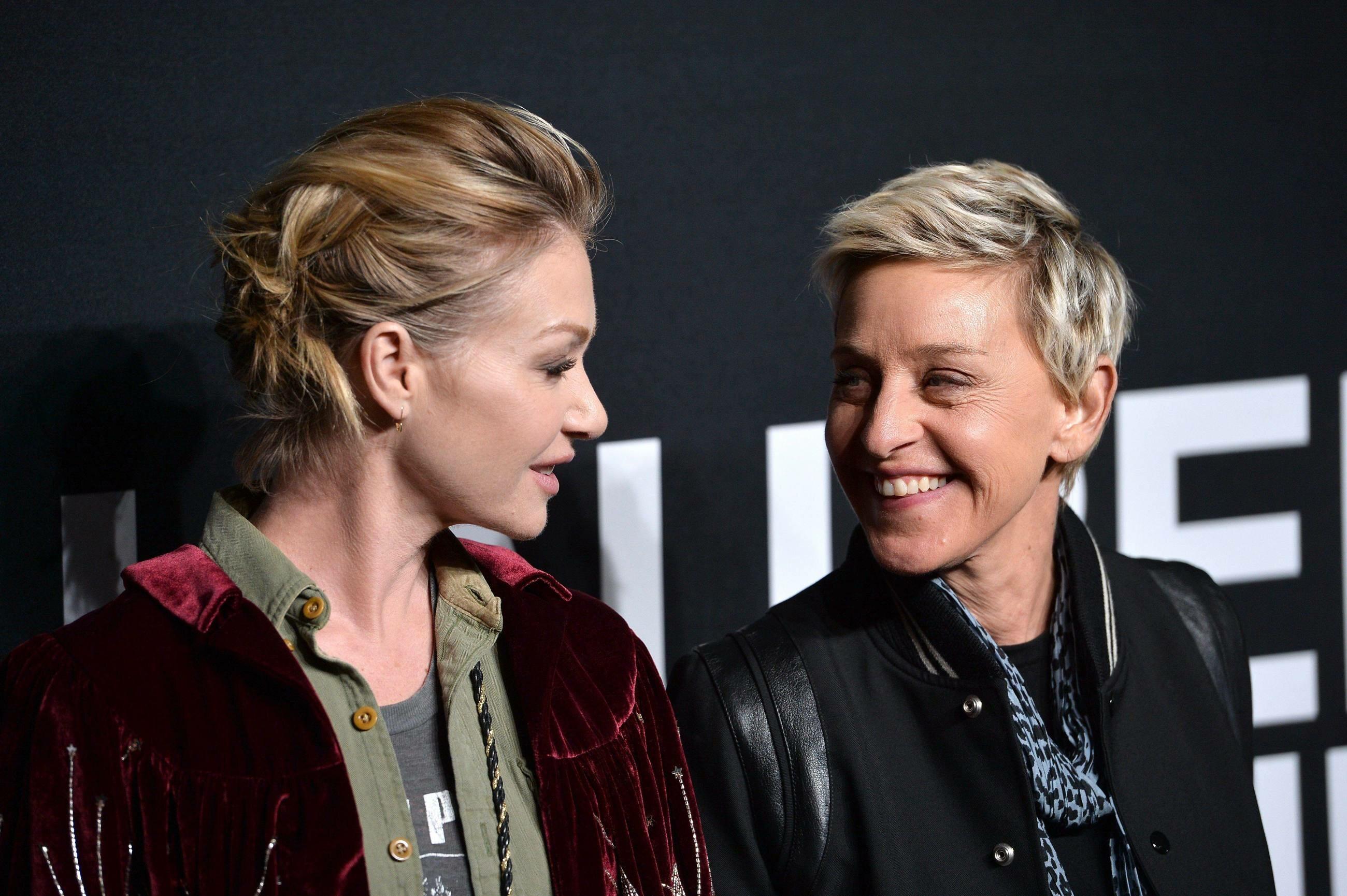 Ellen DeGeneres i jej żona Porcia de Rossi