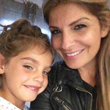 Ellie Holman i jej córeczka