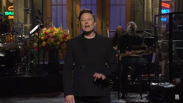 "Elon Musk w ""Saturday Night Live"""