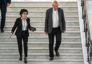 Elżbieta Witek i Ryszard Terlecki