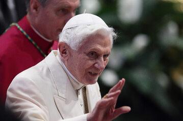 Emerytowany papież Benedykt XVI