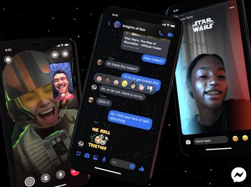 """Emotikony, naklejki i filtry związane z premierą filmu  """"Gwiezdne Wojny: Skywalker. Odrodzenie"""""""