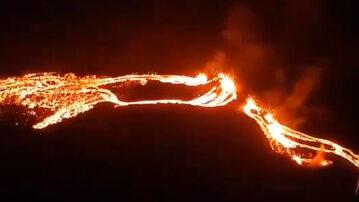 Erupcja wulkanu Fagradalsfjall