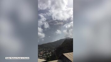 Erupcja wulkanu na Karaibach. Ewakuowano ponad 16 tys. mieszkańców
