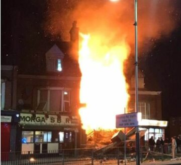 Esplozja w Leicester