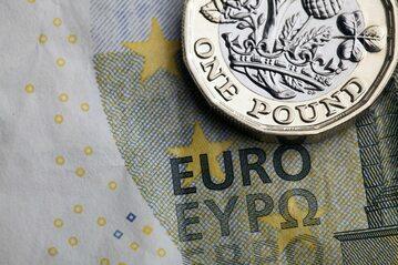 Euro i funt (zdj. ilustracyjne)