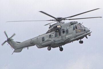 Eurocopter EC-725R2 Caracal, należący do francuskiej armii