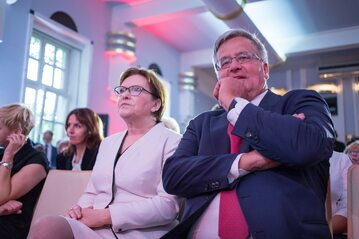 Ewa Kopacz i Bronisław Komorowski