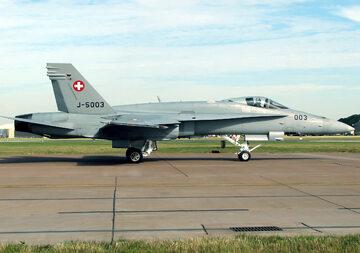 F/A-18C Hornet Szwajcarskich Sił Powietrznych