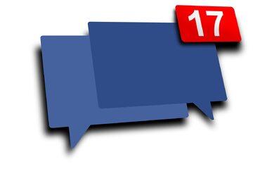 Facebook, Messenger, wiadomości