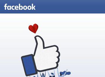 Facebook, strona startowa