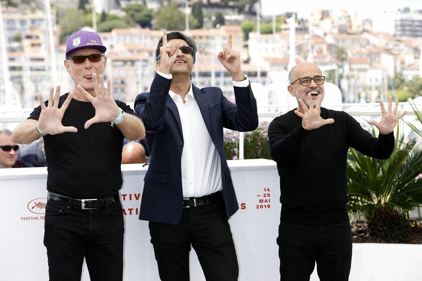 """Fernando Signorini, Asif Kapadia i Daniel Arcucci na premierze """"'Diego"""""""