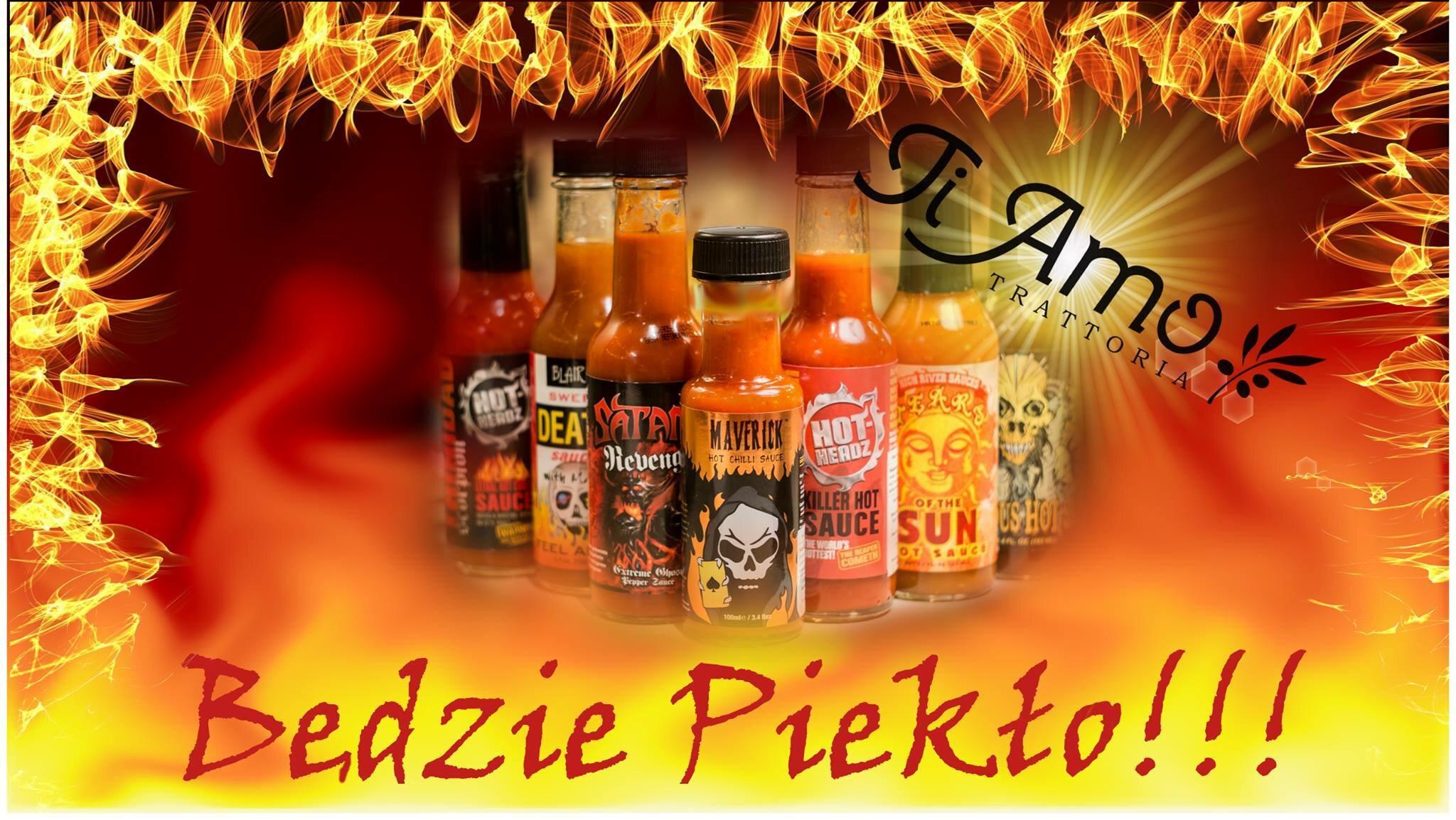 Festiwal ostrych smaków w Ti Amo 30 stycznia – 6 lutego