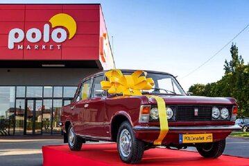 Fiat 125p w loterii Polomarketu