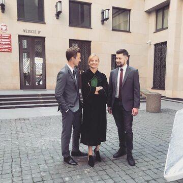 Filip Pławiak, Magdalena Cielecka i Remigiusz Mróz