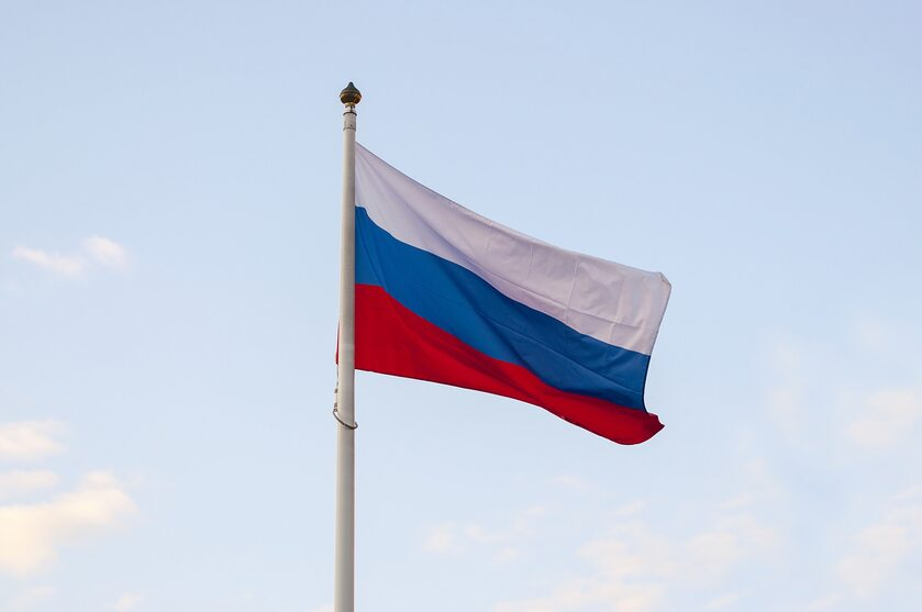 Flaga Rosji