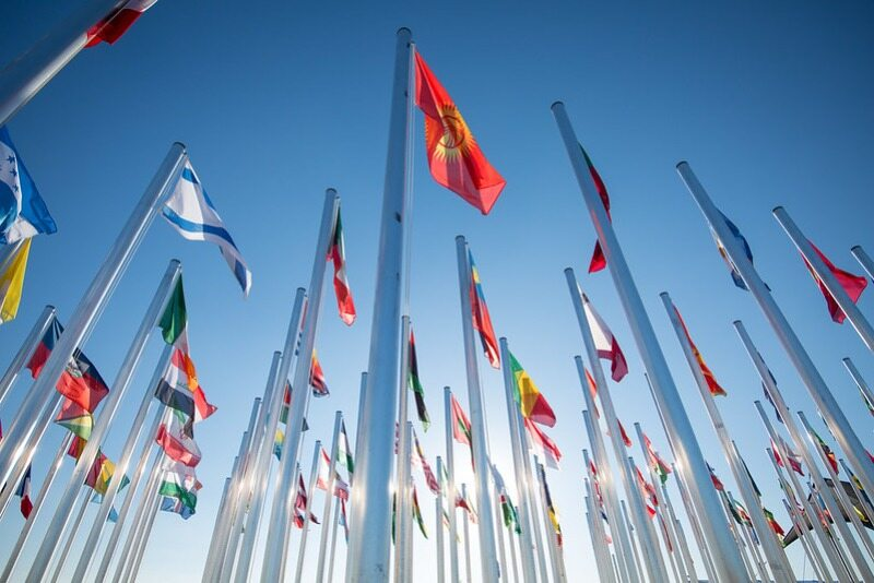 Flagi członków ONZ