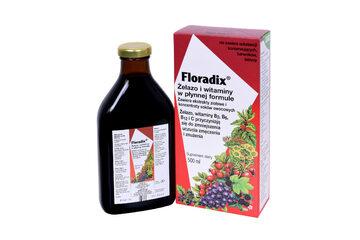 Floradix żelazo i witaminy 500 ml
