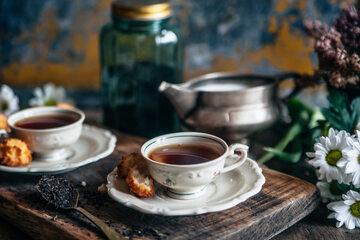 Food styling - Herbata Althaus