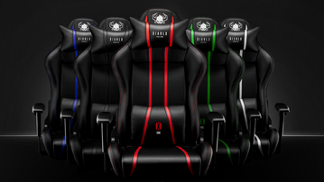 Fotele gamingowe Diablo Chairs