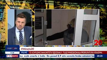 """Fragment programu """"Minęła 20"""" TVP Info"""