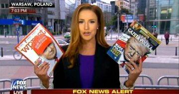 Fragment serwisu informacyjnego Fox News