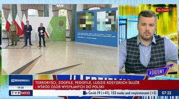 Fragmenty konferencji ministrów w TVP Info