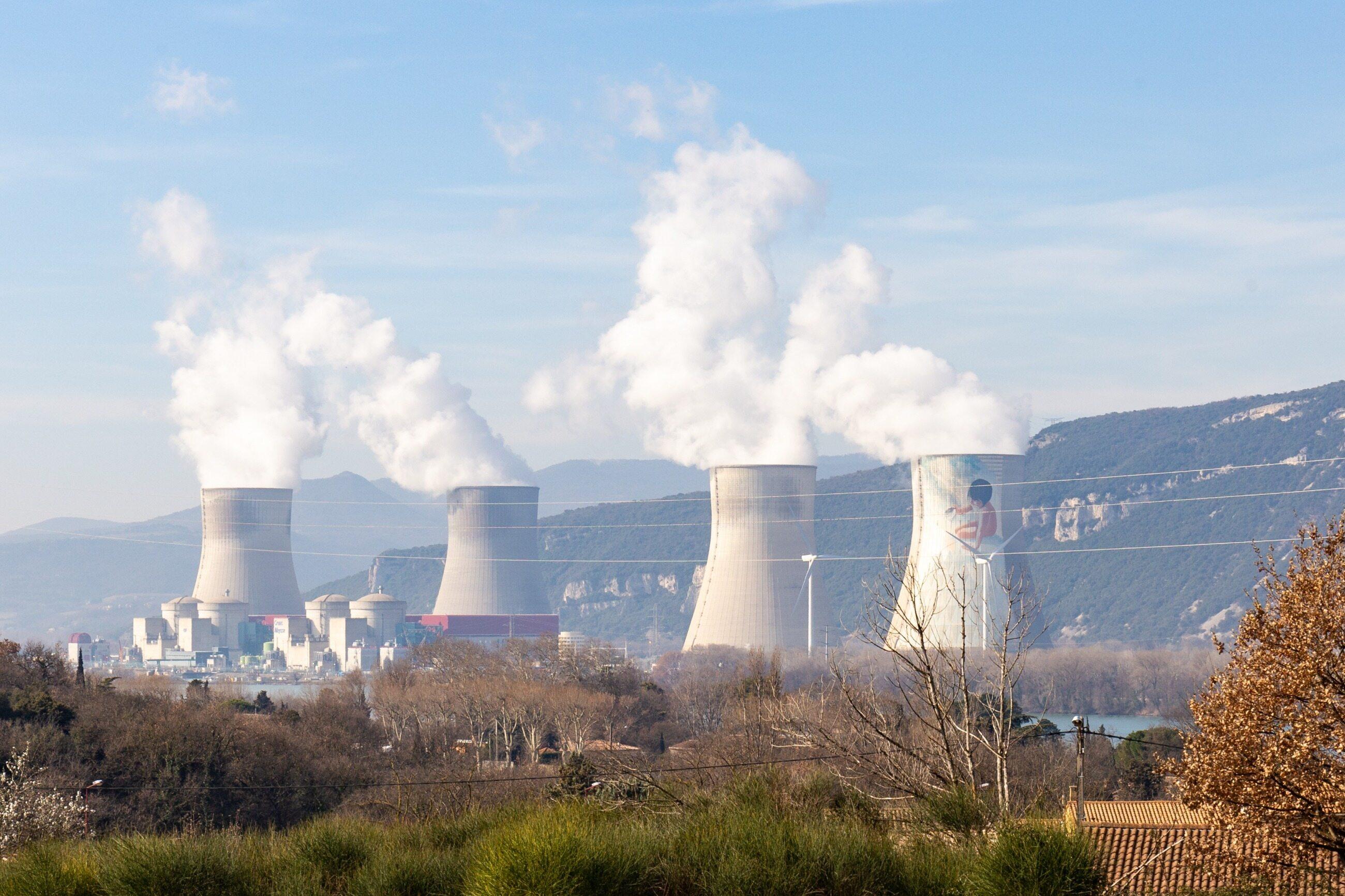 Francuska elektrownia atomowa
