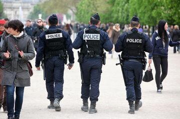 Francuska policja, zdjęcie ilustracyjne