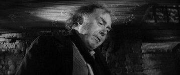 """Freddie Jones w filmie """"Człowiek słoń"""" (1980)"""