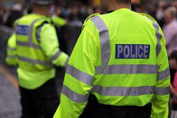Funkcjonariusze policji z Wielkiej Brytanii