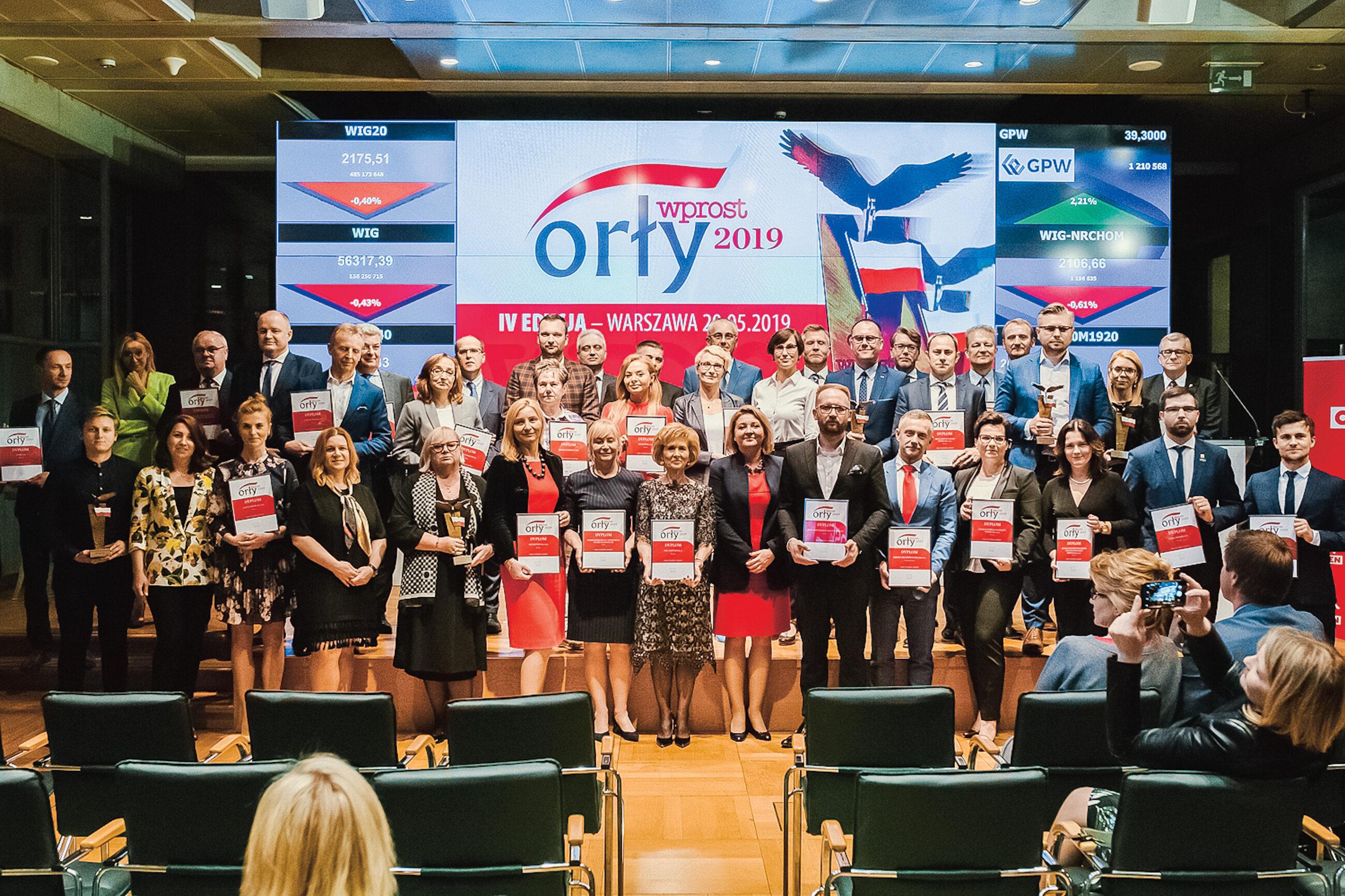Gala Orły Wprost 2019 - Warszawa