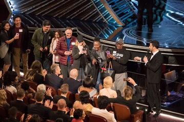 """Gala rozdania Oscarów z 2017 roku. Wejście """"turystów"""""""