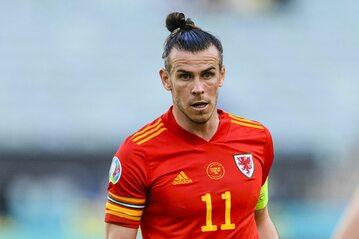 Gareth Bale w meczu ze Szwajcarią