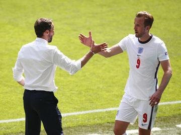 Gareth Southgate i Harry Kane