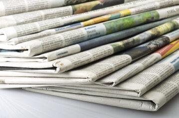 Gazety, media, zdj. ilustracyjne