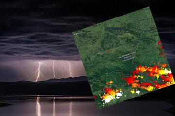 Gdzie jest burza? Burze na południu i południowym wschodzie kraju