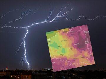 Gdzie jest burza? IMGW wydało też ostrzeżenia przed upałami