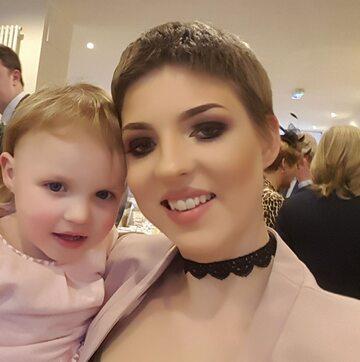 Gemma Nuttall z córką