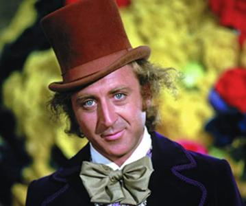 Gene Wilder jako Willy Wonka