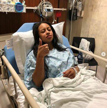 Genea Sky w szpitalu