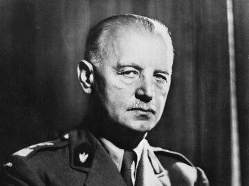 Generał Władysław Sikorski w trakcie II wojny światowej