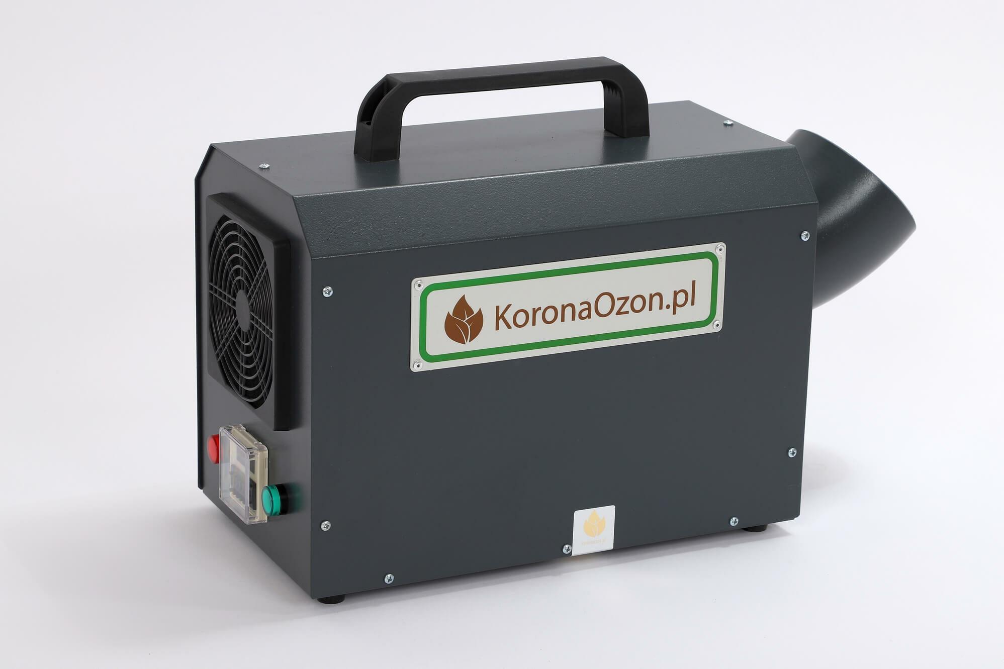 Generator ozonu Korona A 20 Zdrowy Dom – najchętniej kupowany ozonator powietrza produkowany przez firmę KoronaOzon