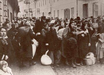 Getto utworzone przez nazistów na terenie Warszawy, zdj. ilustracyjne