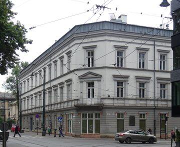 Gmach krakowskiej AST