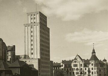 """Gmach tow. """"Prudential"""", Warszawa 1935 rok"""