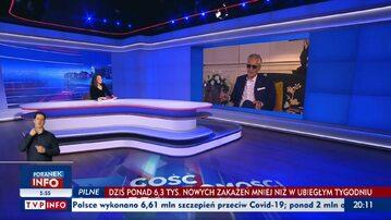 """""""Gość Wiadomości"""" TVP z 4 kwietnia 2021 r. Gościem – Andrea Bocelli"""