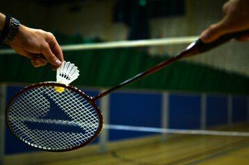 Gra w badmintona